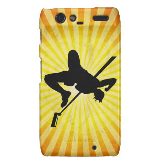 High Jump; yellow Motorola Droid RAZR Case