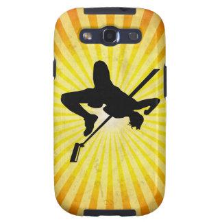 High Jump; yellow Samsung Galaxy S3 Covers