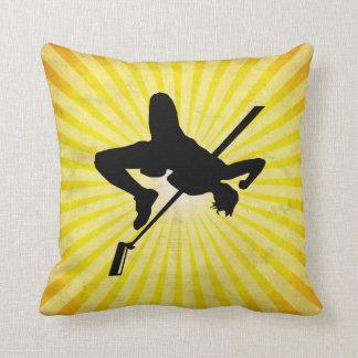 High Jump; yellow Pillow