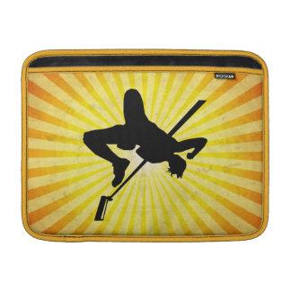 High Jump; yellow MacBook Air Sleeve