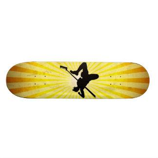 High Jump; yellow Skate Boards