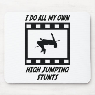 High Jumping Stunts Mouse Pad