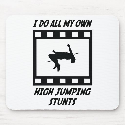 High Jumping Stunts Mouse Pads