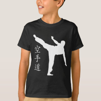 High Kick/Karate Kanji T-Shirt