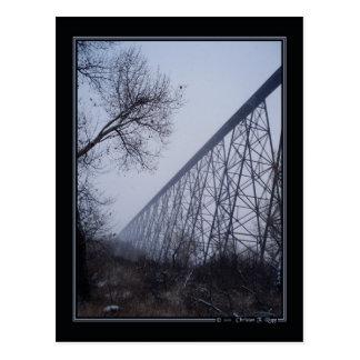 High Level Bridge postcard