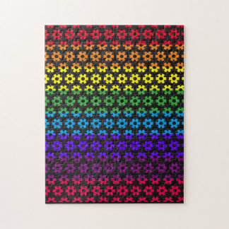 High Level Colorful Flower Pattern Puzzle