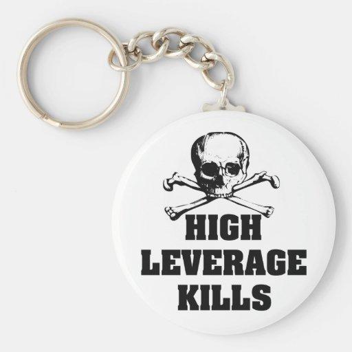 High Leverage Kills Keychain
