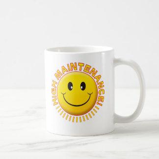 High Maintenance Smiley Coffee Mug