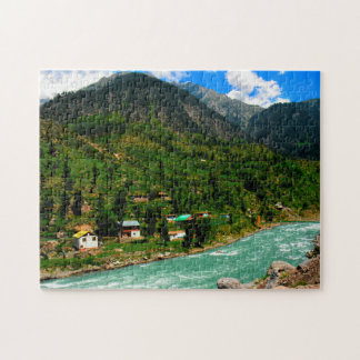 High Mountain Rivers Pakistan. Puzzles
