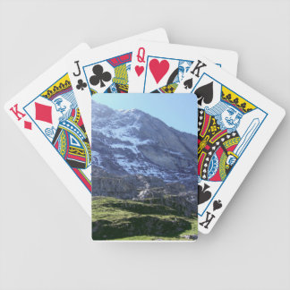 High mountains in the Jungfrau Region Bicycle Playing Cards