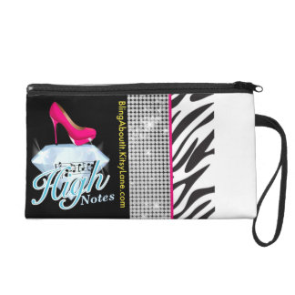 High Notes Wristlet Clutches
