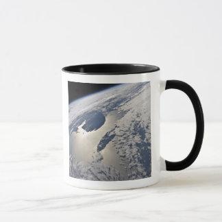 High-oblique view of the Gaspe Peninsula Mug