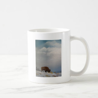 High on a windy hill. basic white mug