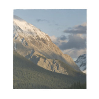 High peak near Maligne Lake, Jasper National Notepad