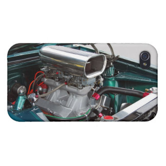 High Performance Car Engine iPhone 4/4S Cases
