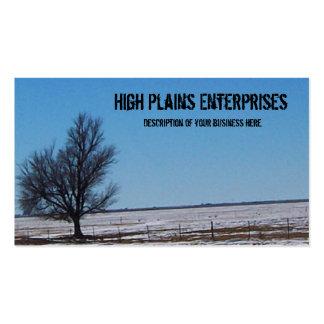 High Plains Business Card