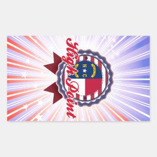 High Point, NC Rectangular Sticker