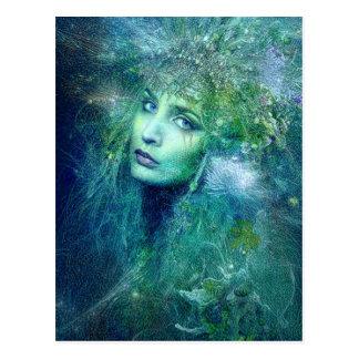 High Preistess of Water Postcard