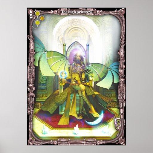High Priestess, by Joseph Maas Poster