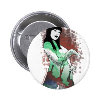 High priestess of Cthulhu 6 Cm Round Badge