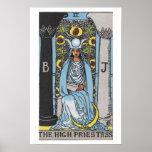High Priestess Tarot Card Poster