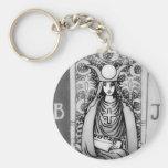 High Priestess Tarot Key Chain