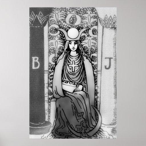 High Priestess Tarot Print