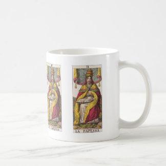High Priestess Vintage Tarot Coffee Mug