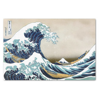 High Quality Great Wave off Kanagawa by Hokusai Tissue Paper