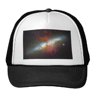 High Rate Star Formation Starburst Galaxy M82 Cap