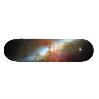 High Rate Star Formation Starburst Galaxy M82 Custom Skateboard