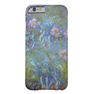 High Res Claude Monet Agapanthus Barely There iPhone 6 Case