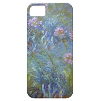 High Res Claude Monet Agapanthus Case For The iPhone 5