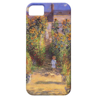 High Res Claude Monet  Seine bank at Vetheuil iPhone 5 Cover