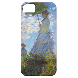 High Res Claude Monet Woman with a Parasol Case For The iPhone 5
