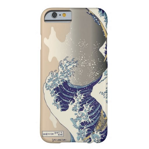High Res Hokusai The Great Wave iPhone 6 Case