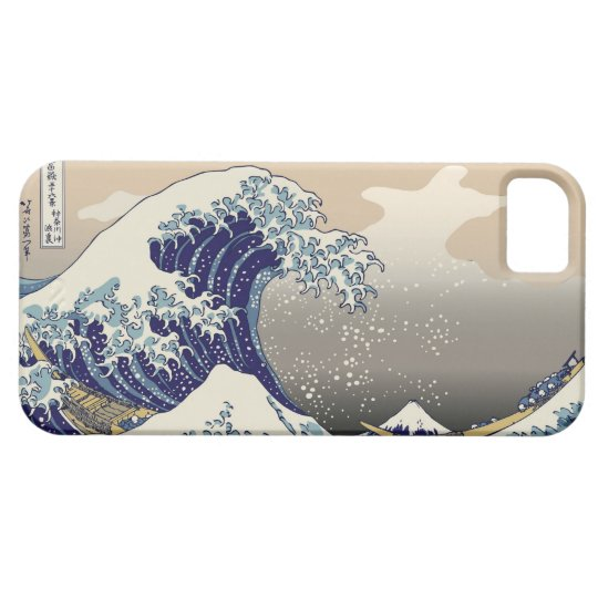 High Res Hokusai The Great Wave iPhone 5