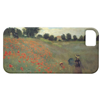 High Res Monet Wild Poppies near Argenteu Case For The iPhone 5