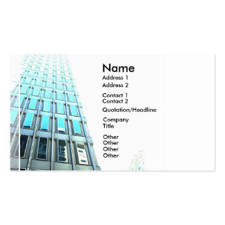 High Rise Building Artistic Business Card