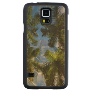 High rise buildings carved maple galaxy s5 case