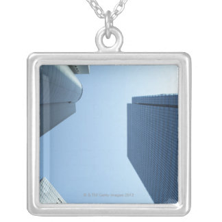 High Rise Silver Plated Necklace