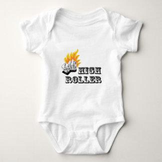 high roller baby bodysuit