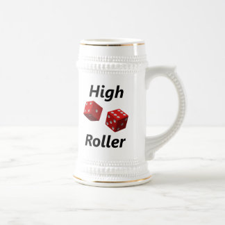 High Roller Beer Stein