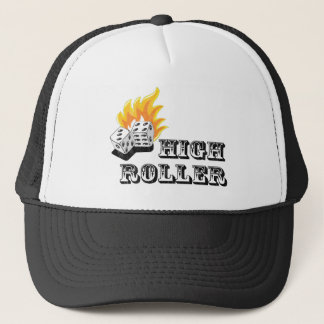 high roller trucker hat