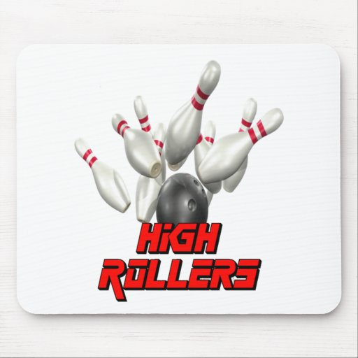 High Rollers Bowling Mouse Pad