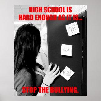High School Bullying Print