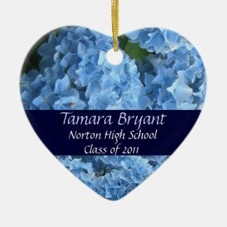 High School Class of 2011 Heart Keepsake Ceramic Heart Decoration
