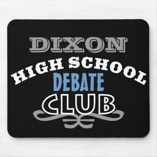 High School Club - Debate Mouse Mat