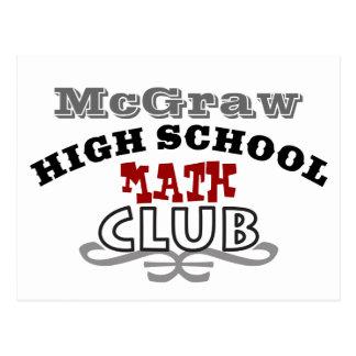 High School Club - Math Postcard