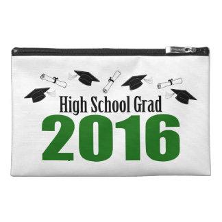 High School Grad 2016 Caps And Diplomas (Green) Travel Accessories Bags